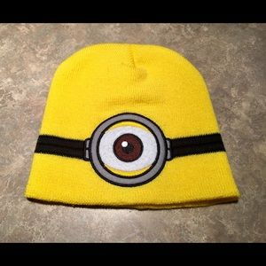 DESPICABLE ME Bright Yellow Beanie Hat ONFA